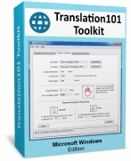 Translation101 Toolkit (MS Windows Version)