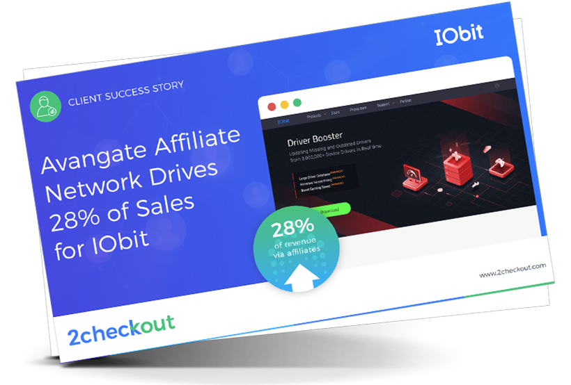 Avangate Affiliate Network Drives 28% of Sales for IObit